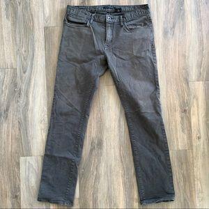 34x33 John Varvatos Bowery Slim Straight Jeans